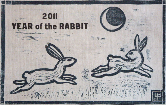 January 2011 - Year of the Rabbit